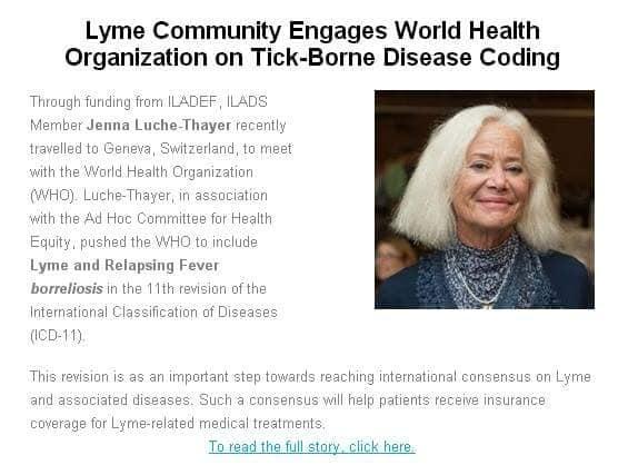 faksimil från artikel om ad hocs arbete och vår generaldirektör Jenna Luché Thayer